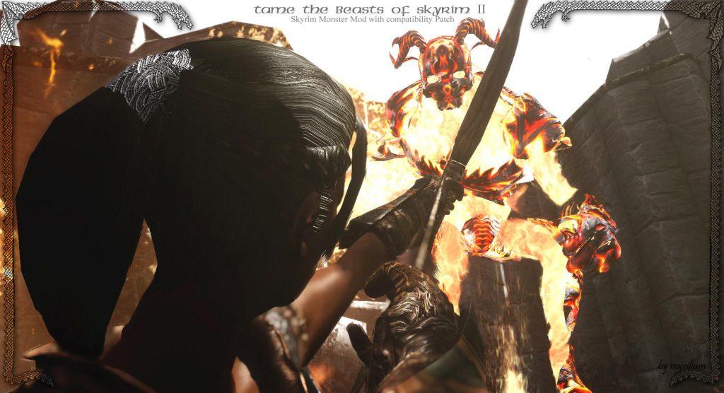 Мод для приручение зверей Скайрима