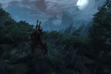 Модификация, которая добавляет объемные облака над островом Скеллиге в игре The Witcher 3: Wild Hunt