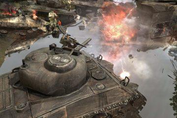 Трейлер Company of Heroes 2: Британские войска демонстрирует огневые позиции