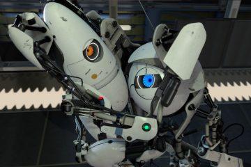 Ужасающая пустота между измерениями в Portal 2