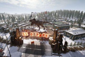 В PUBG вышла карта Викенди с парком динозавров и космодромом