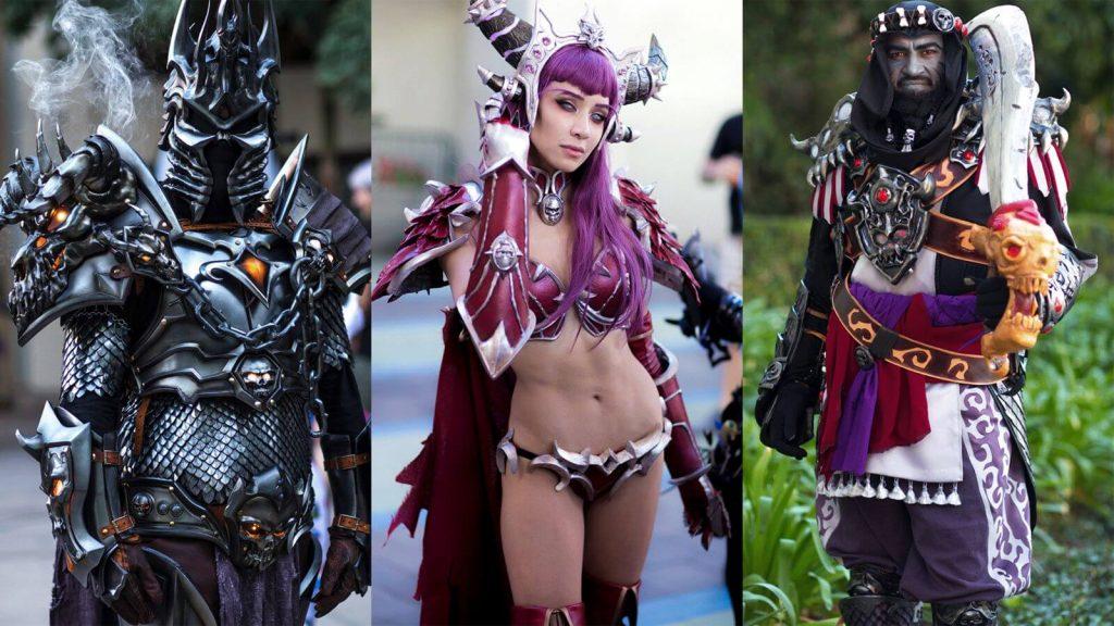 Косплееры переписывают канон World Of Warcraft