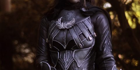 Косплей в честь Карлии «Леди Теней» из Skyrim