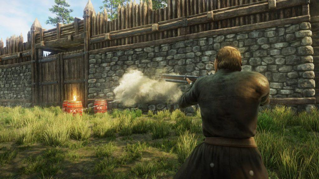 MMO от Amazon, New World, демонстрирует строительство крепостей на новых скриншотах