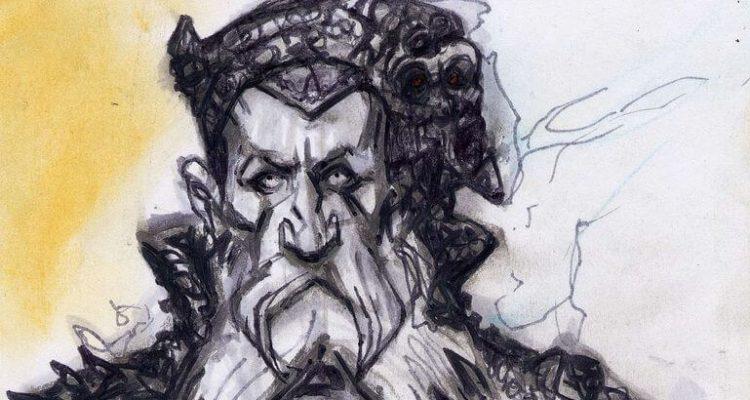 По следам иллюстраций к самому лучшему дополнению Elder Scrolls – The Shivering Isles