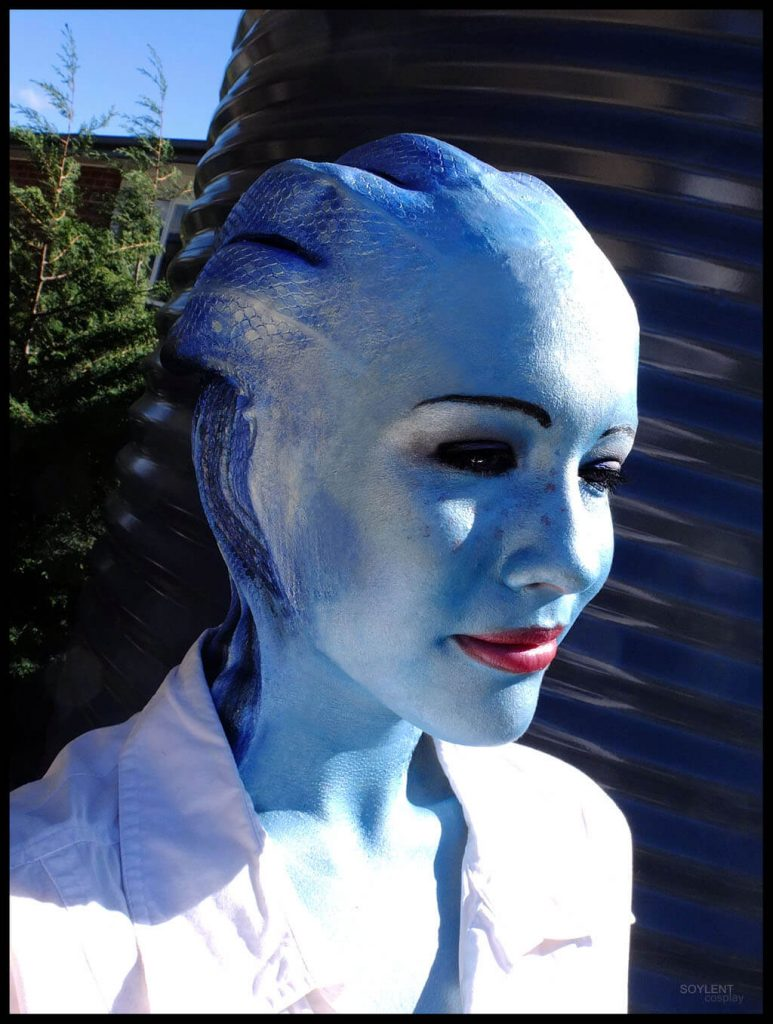 Вы влюбитесь в этот косплей гуманоида Азари из Mass Effect!