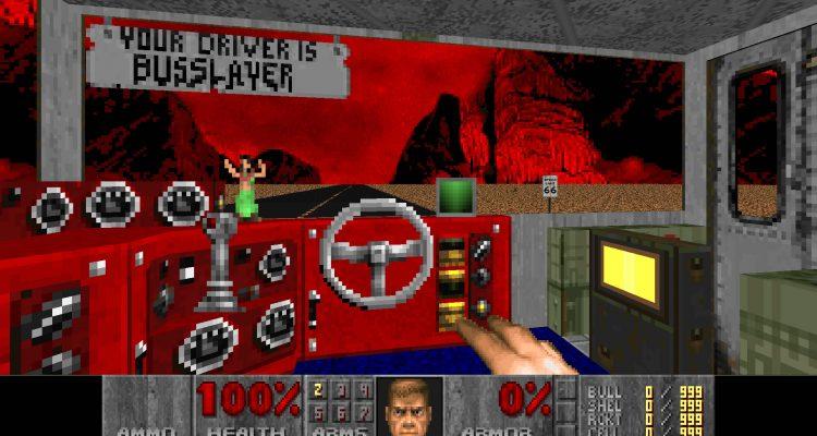 Desert Bus для Doom 2 добавляет жестокость в монотонность