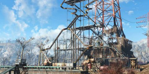 Contraption Workshop для Fallout 4 позволяет создавать полезные и издевательские машины