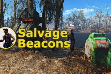 Мод поисковые маячки (Salvage Beacons) для Fallout 4