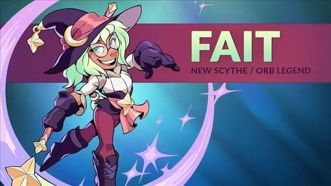 Фейт – это новый боец Brawlhalla.
