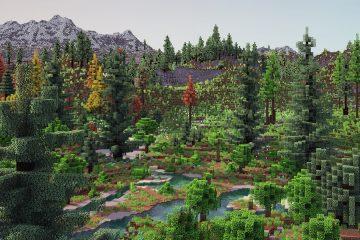 Игрок Minecraft провел год, обновляя генерацию местности, и результат выглядит прекрасно