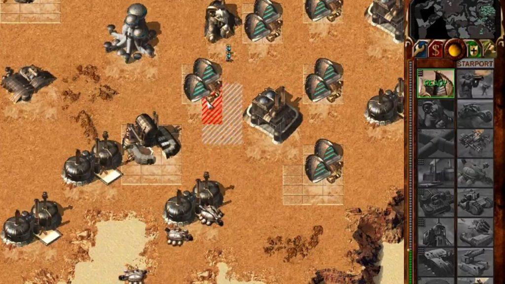 История Dune 2000 - про экономические и строительно-оборонительные аспекты игры