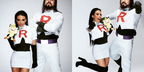 Просто пара звезд WWE, которые сделали косплей на Команду R
