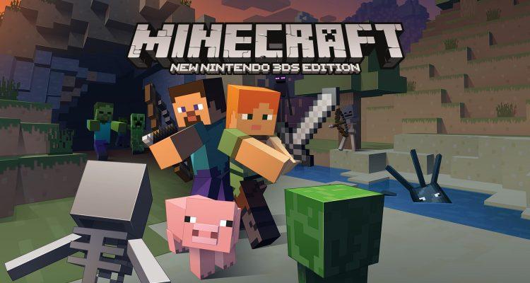 Minecraft для New Nintendo 3DS получит финальное и самое большое обновление