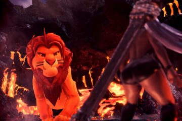 Мод The Lion King для Monster Hunter World