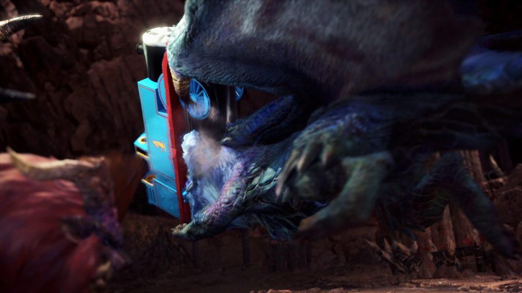 Паровозик Томас наконец-то на своем месте – в Monster Hunter: World