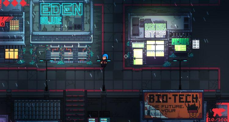 Neon Blight – это рогалик, в котором вы продаете оружие киберпанкам