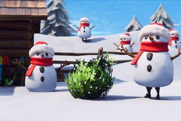 Новое обновление Fortnite позволит вам замаскироваться под снеговика