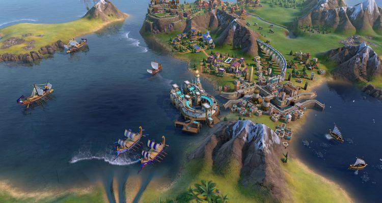 Покорите Civilization 6: Gathering Storm в качестве морских финикийцев