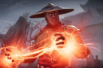 Посмотрите, как новый боец Mortal Kombat ударяет парня так сильно, что его мозг вылетает через лицо