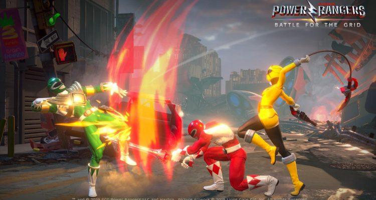 Power Rangers: Battle for the Grid – это файтинг, который выйдет на ПК в этом году