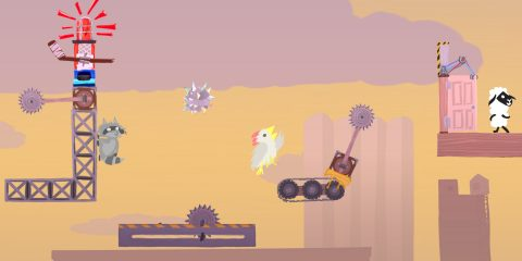 Самое время взглянуть на безумный платформер Ultimate Chicken Horse