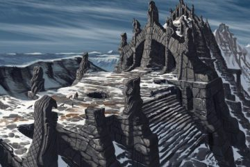 Зарисовки Скайрима: коллекция концепт-артов Адама Адамовича