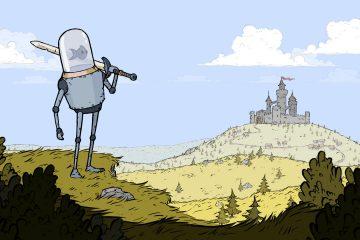Трейлер Feudal Alloy показывает больше средневековых роботов, контролируемых рыбами