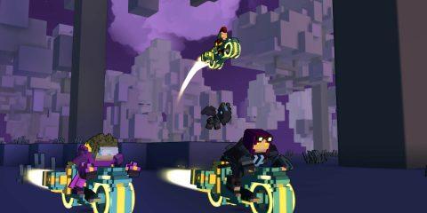 Trove – приключенческая MMO игра с уникальным миром Minecraft