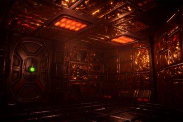 Видео ремейка System Shock демонстрирует туманные залы и пещерные фабрики