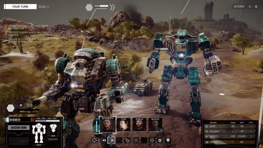 Фанатское дополнение для Battletech добавляет кучу мехов