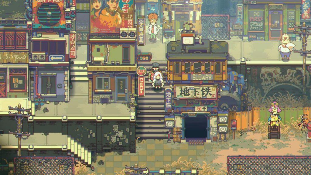 Chucklefish публикуют Eastward sci-fi RPG, похожую на Zelda, Mother и с анимированными телами китов