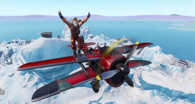 Где найти локации с гонками на время в Fortnite's X-4 Stormwing