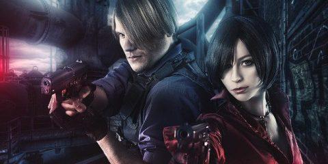 """Хоррор-косплей: Ада Вонг и Леон Кеннеди из """"Resident Evil"""""""