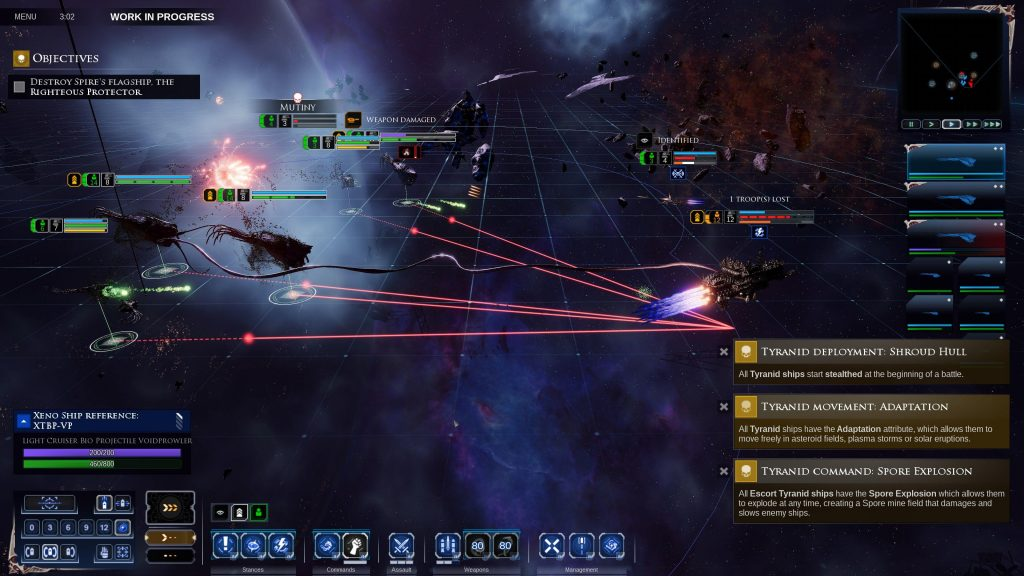 Командуйте флотом, который хочет поглотить вселенную, в Battlefleet Gothic: Armada 2