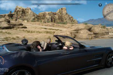 Крутой автомобиль из Final Fantasy 15 появится в Forza Horizon 3