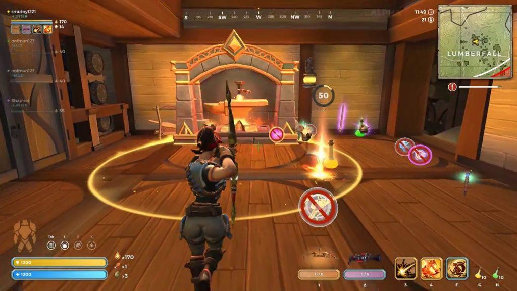 В Realm Royale отлично реализованный, но не выходящий за жанровые рамки, классовый бой