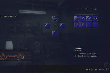 Мод для Resident Evil 2 Remake возвращает классический интерфейс