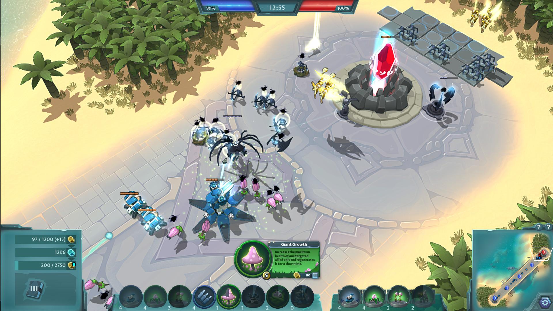 Rise of Legions - быстрая бесплатная RTS на основе старого