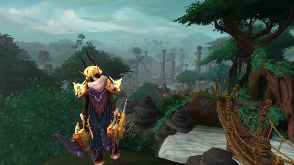 Первобытный остров Зандалар – одна из красивейших локаций World of Warcraft за последнее время