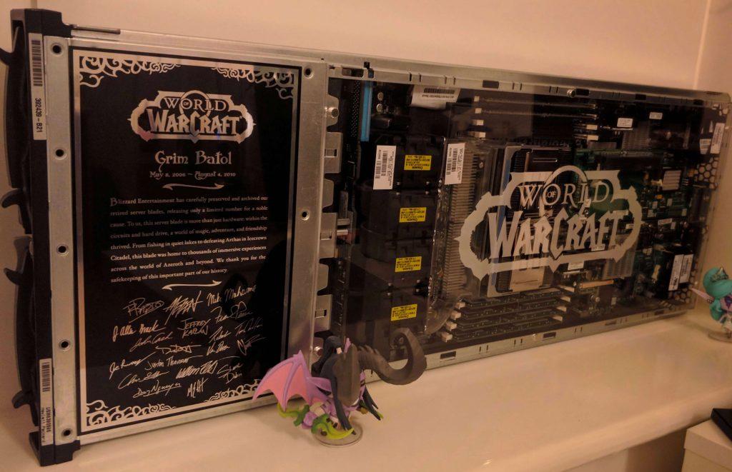 Эти игроки настолько любят World of Warcraft, что даже приобрели списанное оборудование Blizzard