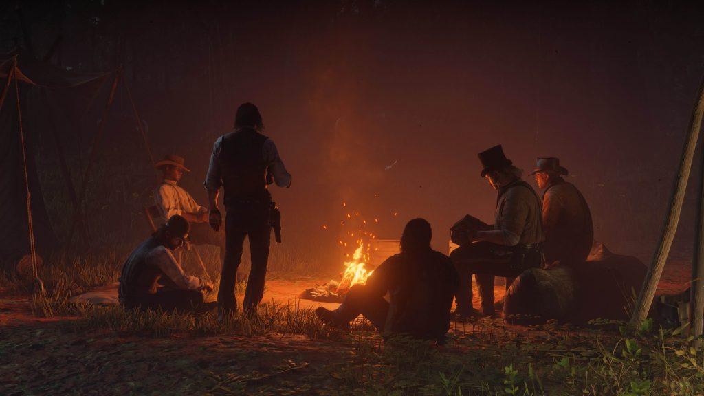 Дела в лагере (Red Dead Redemption 2)