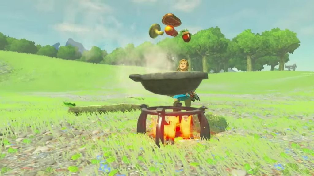 Готовка (The Legend of Zelda: Breath of the Wild)
