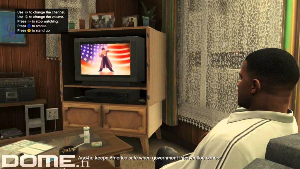 Просмотр фильмов (GTA 5)