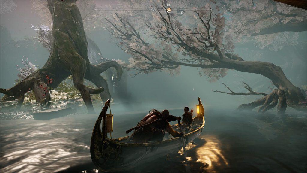 Катание на лодке (God of War)