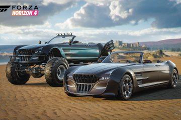 Две машины из Final Fantasy 15 появятся в Forza Horizon 4