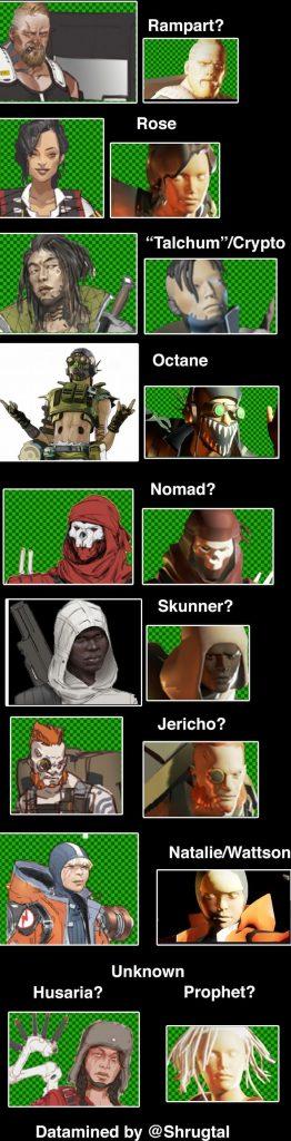Гусары в Apex Legends и другая информация прямо из файлов игры