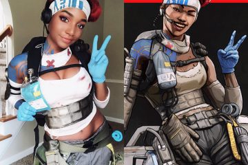 Теперь очередь косплея Apex Legends