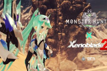 Мод Xenoblade 2 Pneuma вышел для Monster Hunter World