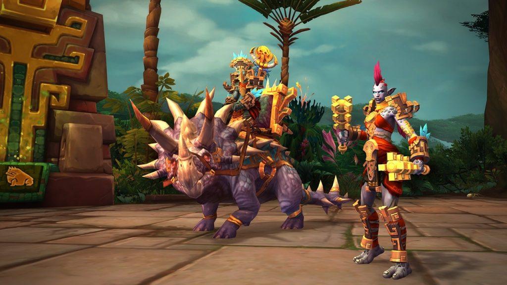 Наконец-то в World of Warcraft появились полные люди и тролли с ровной осанкой